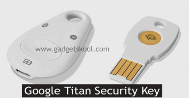 google titan security key details