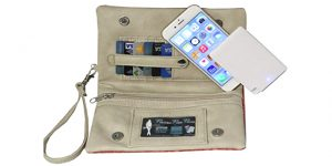 Mobile charging purse | Gadget gifts for women