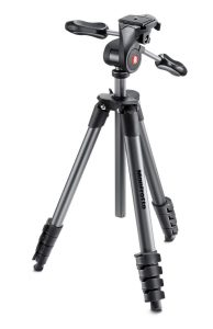 Manfrotto MKCOMPACTADV-BK Compact Advanced Tripod