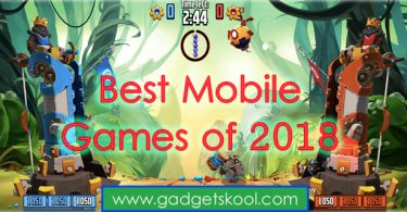 Best 9 Smartphone Games of 2018